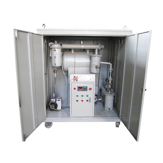 ZY-W Enclosed Weather Proof Type Single Stage Vacuum Transformer Oil Purifier