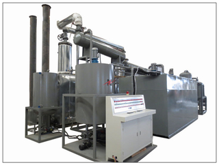 BOD Waste Oil Distillation & Converting To Base Oil System