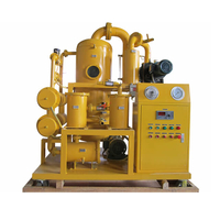 ZYD-PLC PLC Full Automatic Double Stage High Vacuum Transformer Oil Purifier