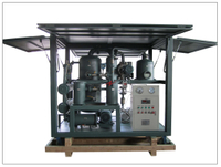 ZYD-I-W Enclosed Weather Proof Type Double Stage High Vacuum Transformer Oil Regeneration Purifier