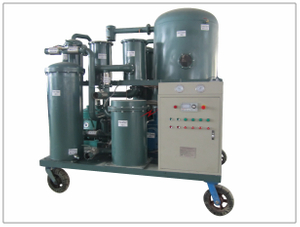 TYA-S Vacuum Stainless Steel Lube Oil Purifier