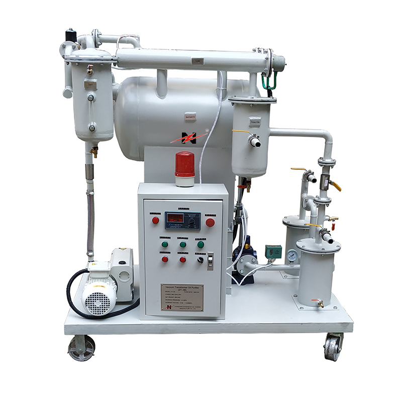 ZY Single-Stage Vacuum Oil Purifier Machine